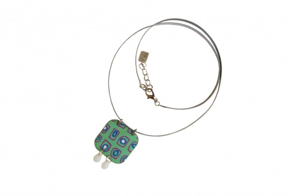 "Cl a Collier bleu copy 1024x682  Printemps/Été/ <span style=""font-style:italic; color:#A1A7B8"">Spring/Summer Mosaïc collection</span>"